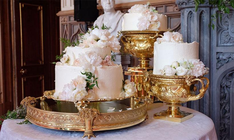 Prince Harry & Meghan Markle's wedding cake.