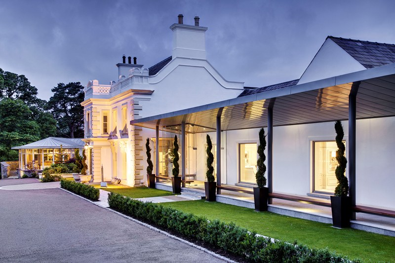 Galgorm Resort and spa for destination weddings