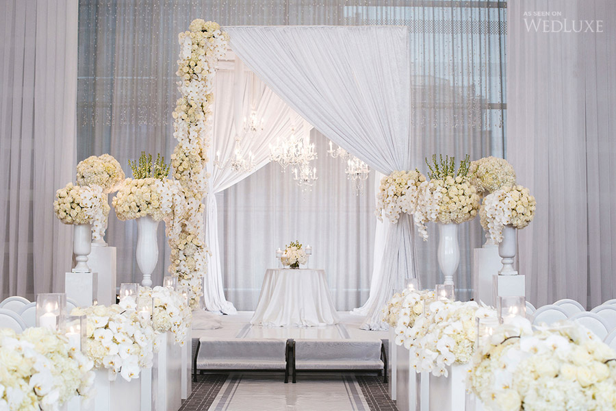 A breathtakingly beautiful ceremony design -  Wedluxe