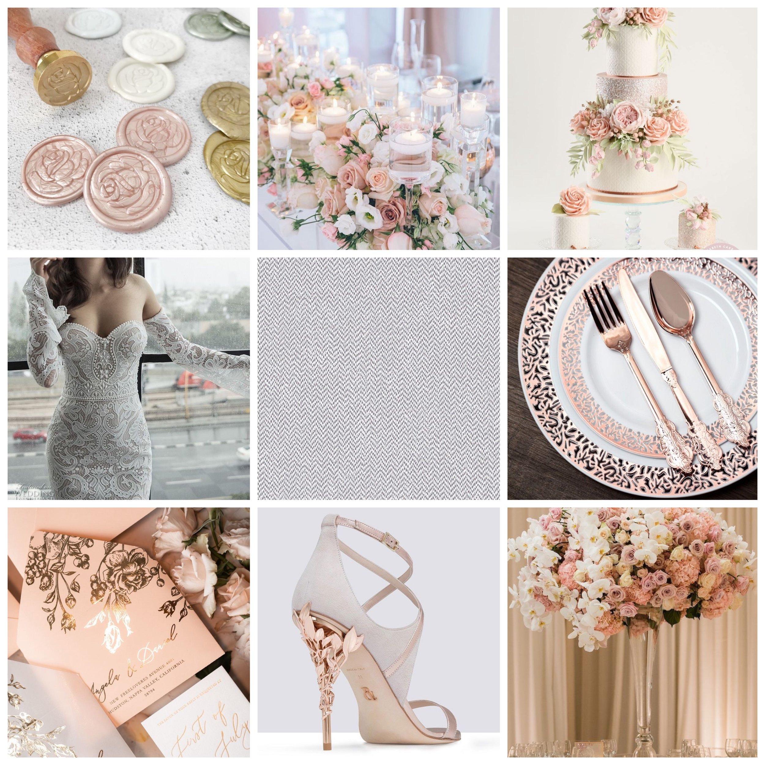 Rose & Cotton Moodboard