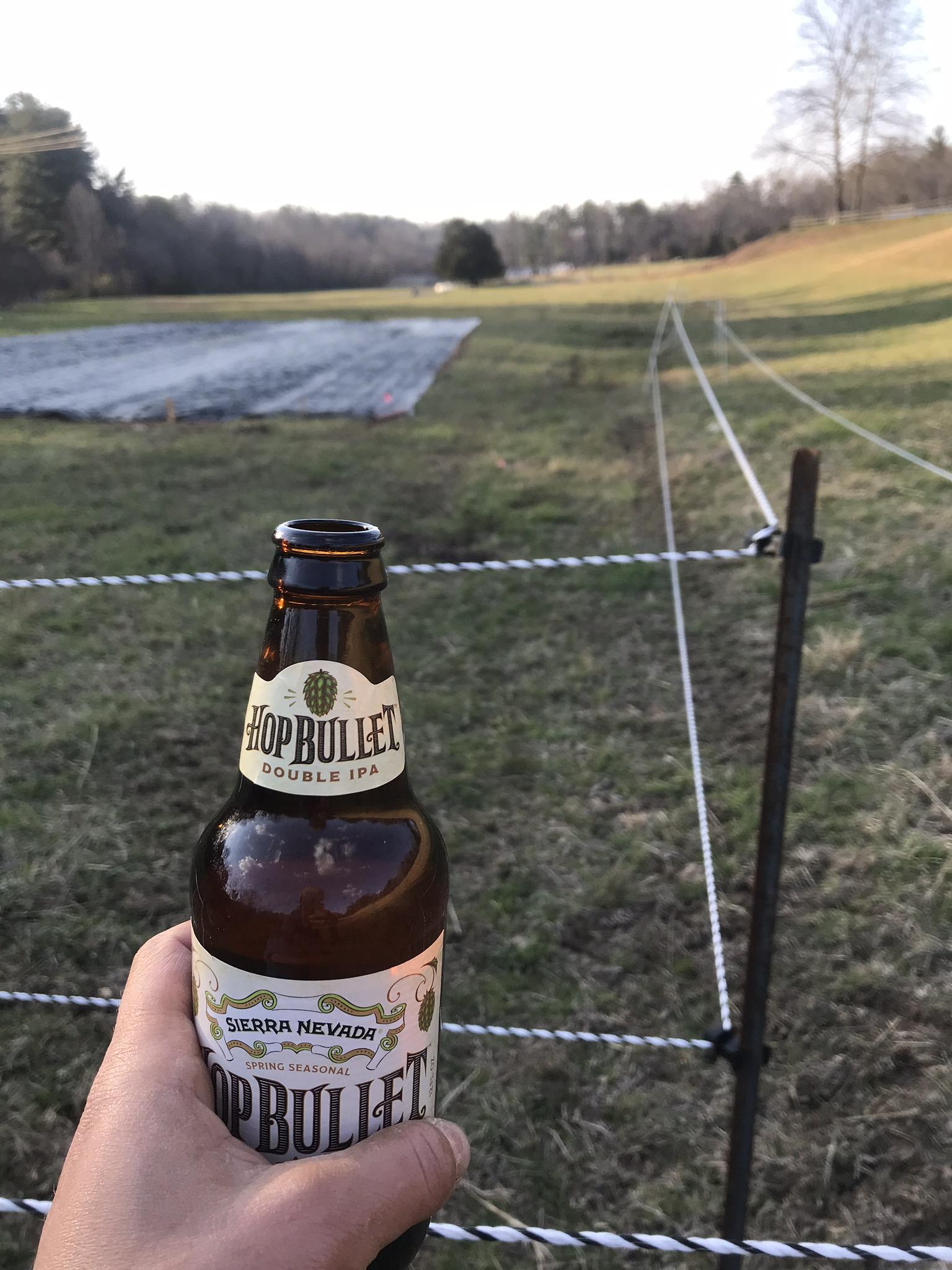 Deer Fence Complete