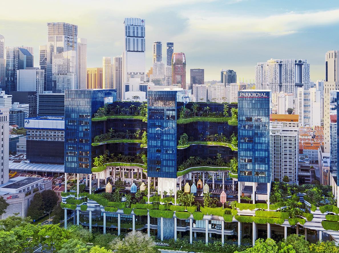 Parkroyal Singapore Aerial