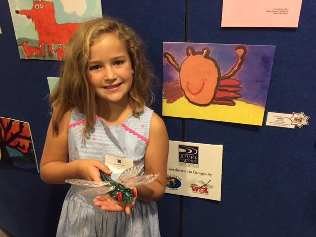 Scarlett Gary, Grade 3. Winner of the 2016 Dragonfly Award