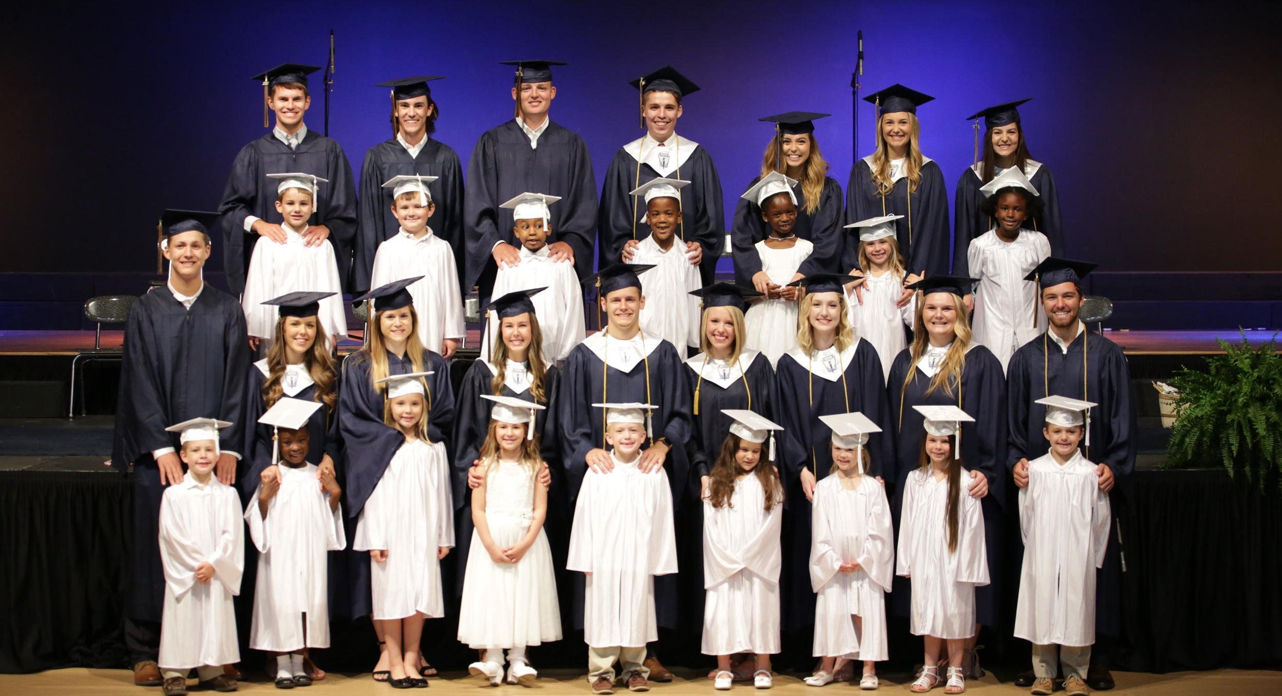 Class of 2017 and Kindergarten Grad-to-Grad Students