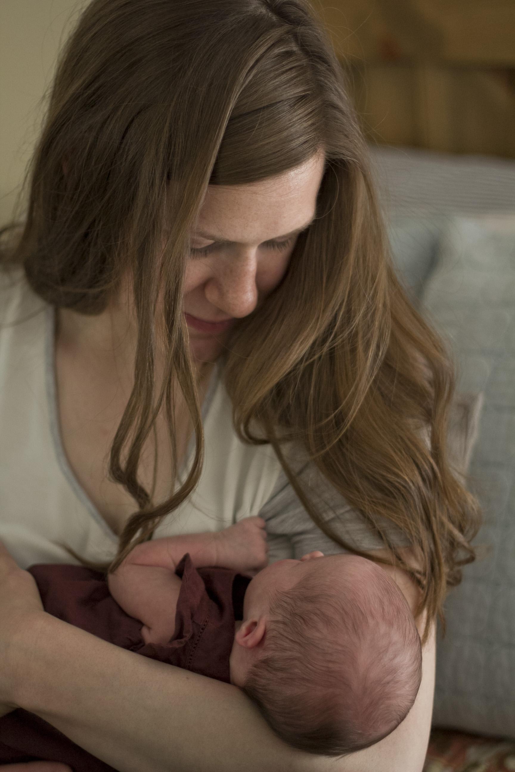 Mama and baby girl