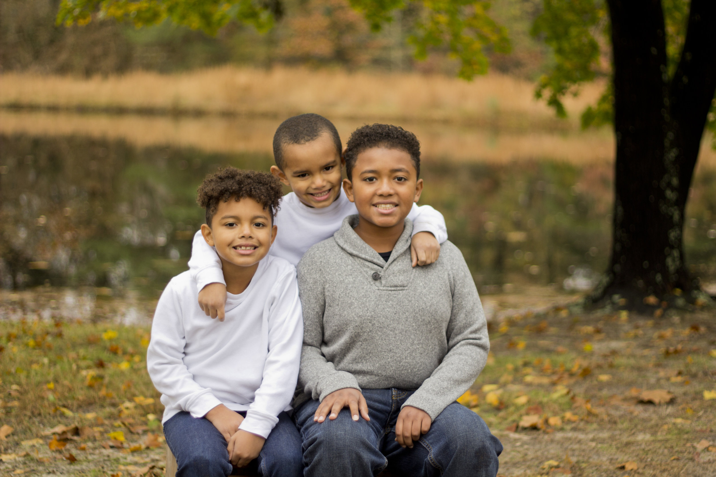 Such a gorgeous fall mini session with the Stewart family in Southern New Jersey