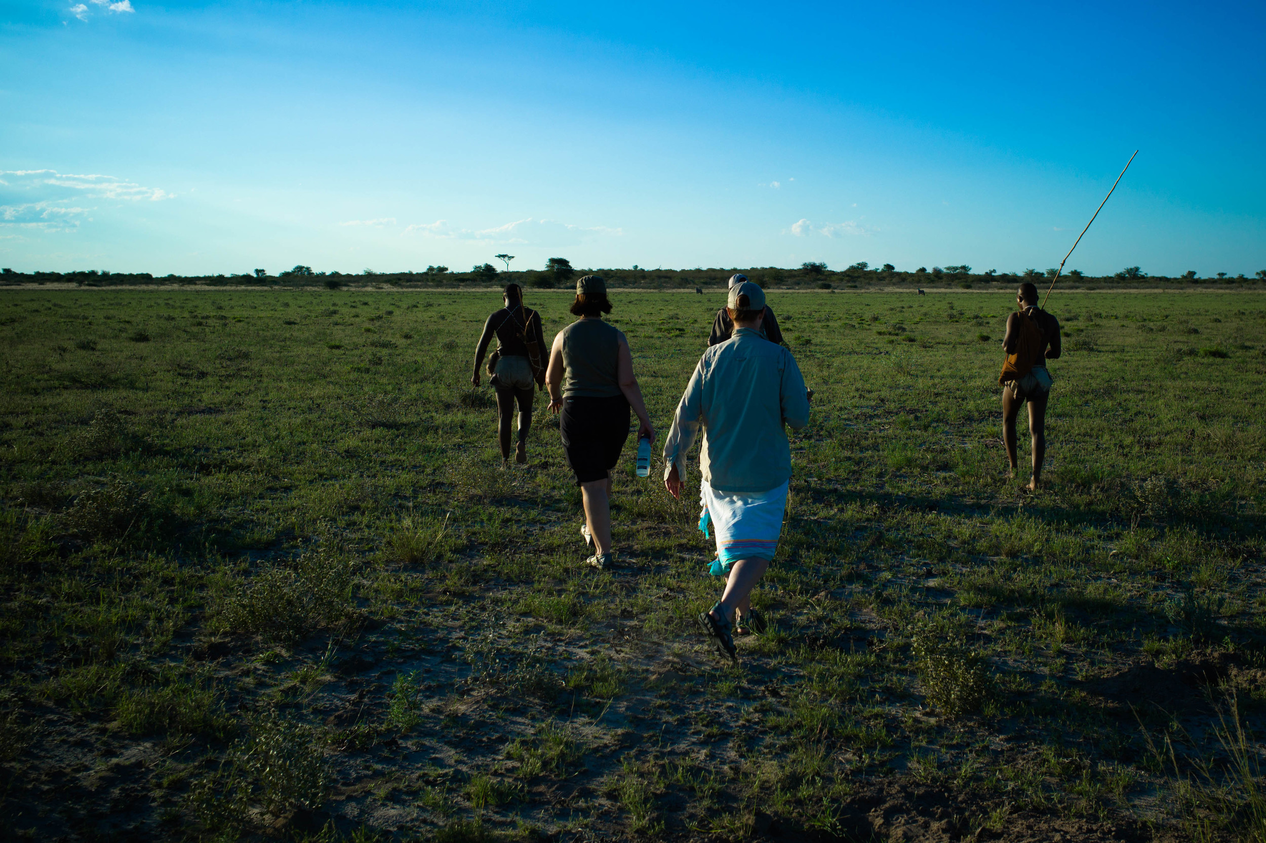 Walking Across the Plain