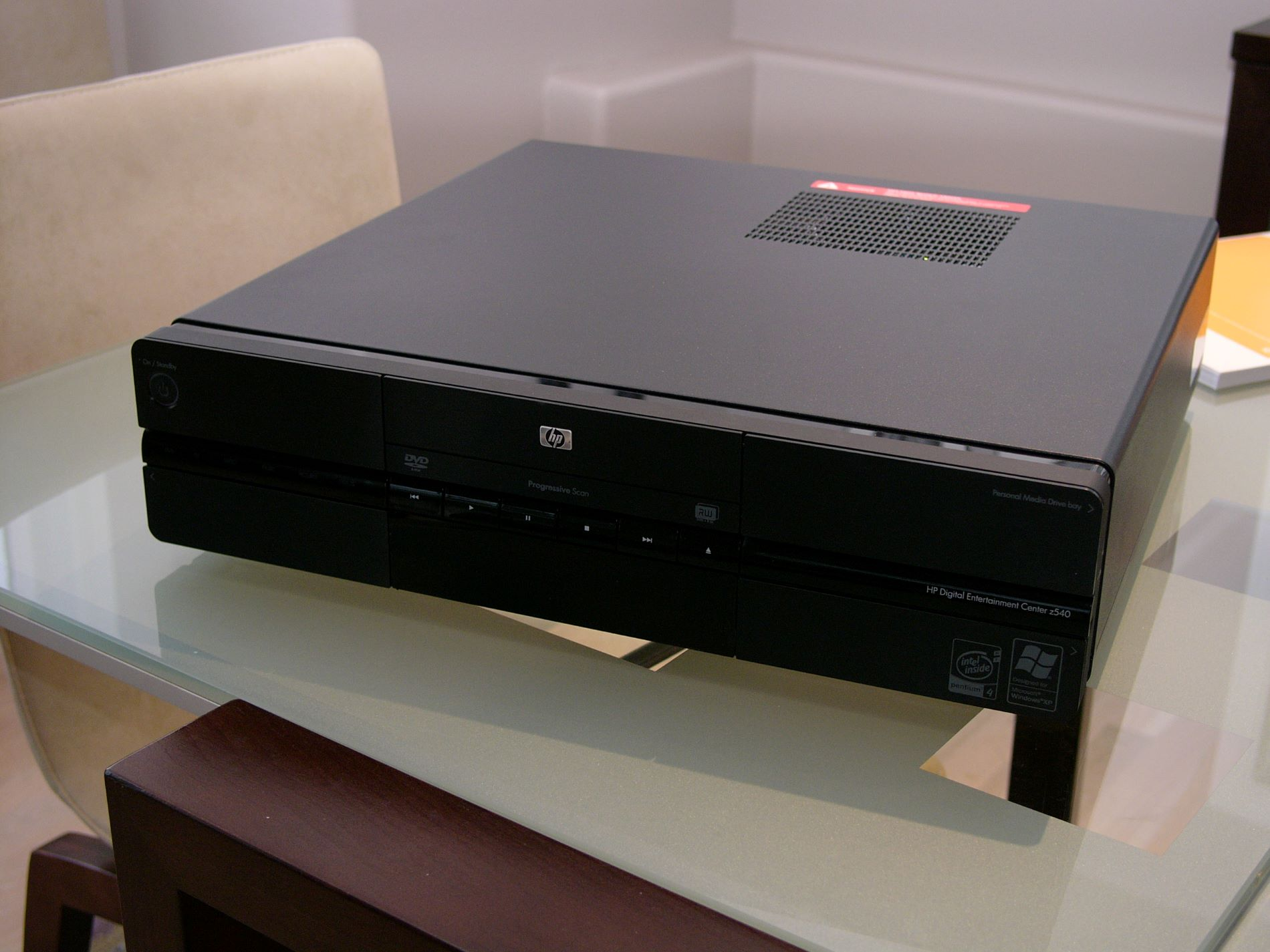 The HP z540 looks like a piece of stereo gear.
