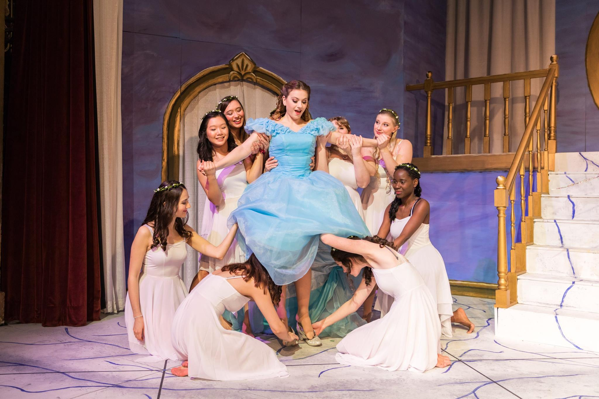 Act I: Arianna Paz '19 in the title role of Massenet's Cendrillon. Photo: Joshua Chiang.
