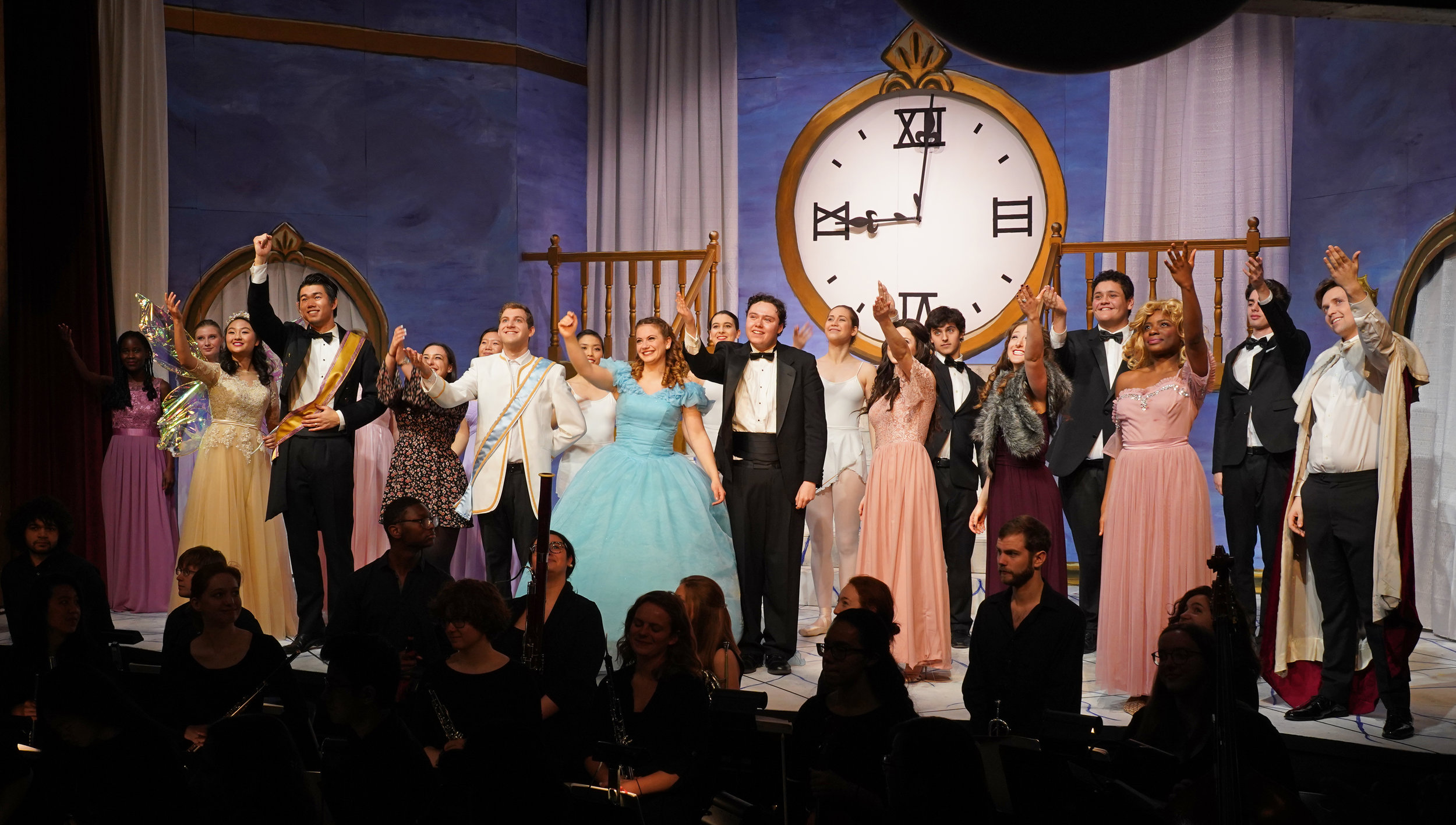 The full cast of  Cendrillon . Photo: Charles Wenzelberg.