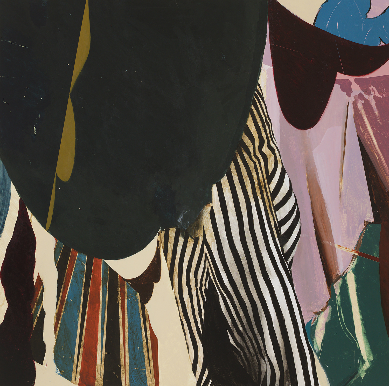 """Irene  Acrylic on Wood  (48"""" x 36"""")"""