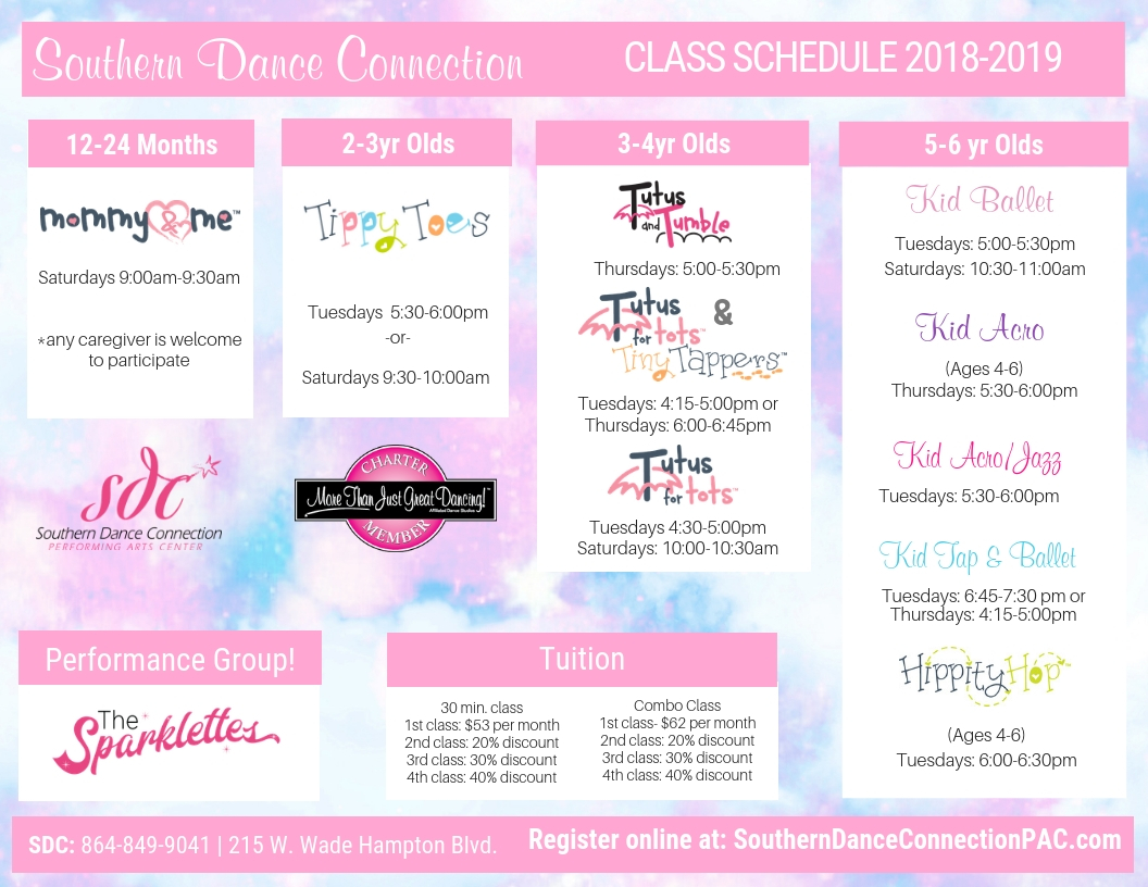Greer Dance Studio Kid Classes
