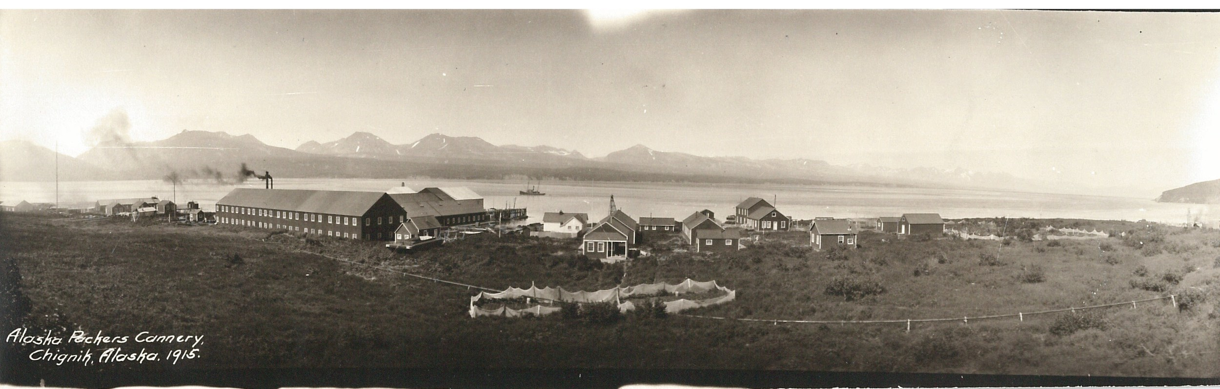 <C>, the APA cannery at Chignik Lagoon. This photo is part of my personal collection.