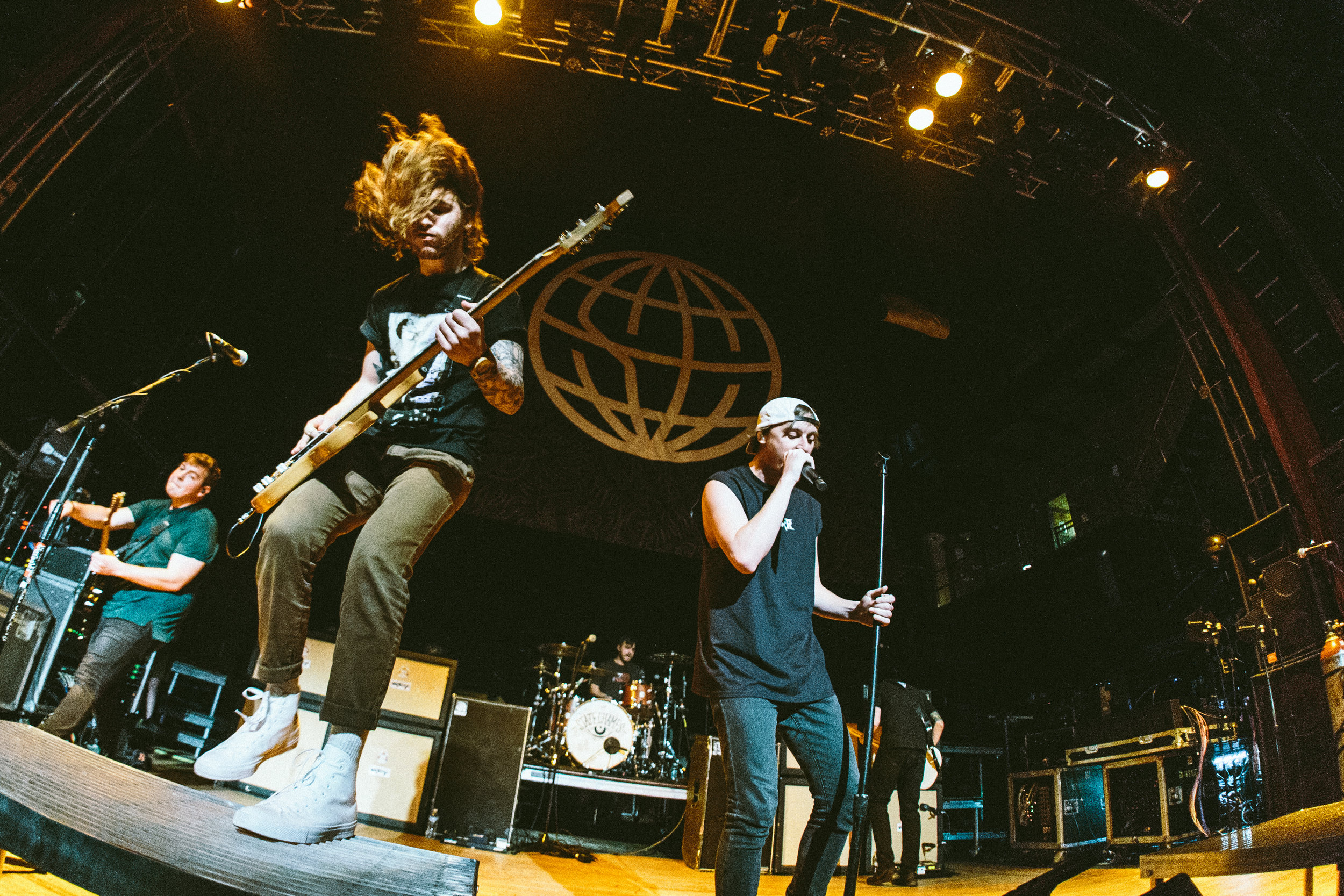 """State Champs - 5.10.2016 // I'd like to take this moment to apologize to the other photographers in this pit that had to endure me singing """"Remedy"""" in its entirety."""