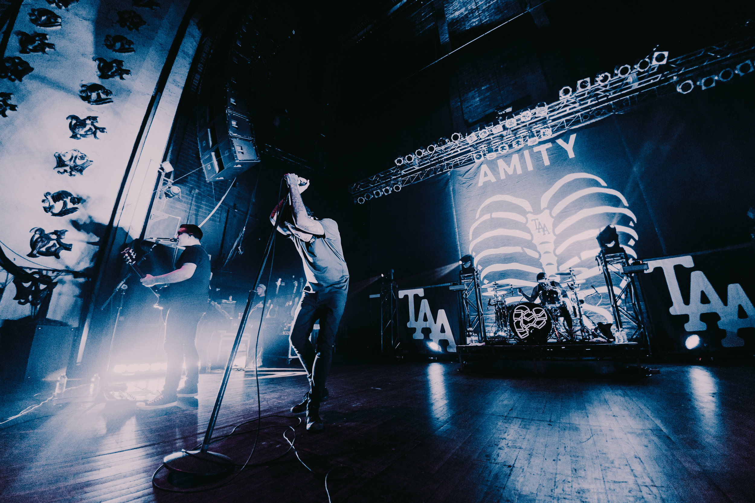 The Amity Affliction - 9.15.2016 // When I was shooting this show, I actually had to pause for a second and appreciate what I was doing. The Amity Affliction's music holds a lot of meaning to me, so I was extremely grateful to be photographing them.