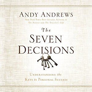 the seven decisions - andy andrews   If the 4:8 principle is the first book I recommend that changed my life, Andy Andrews, the seven decisions is the second (and only because I read it second). this book contains seven principles that if you follow them, they will literally change your life. you can go through one principle at a time, going through the exercises right then or read straight through and go back and spend time going through the exercises. i go back to this book again and again!  if you've never heard of Andy andrews, let me just say, he is my favorite author of all time! He has an amazing way of brining concepts that you may have heard before in a new light, helping you finally be able to take the steps to apply these life-transforming principles.
