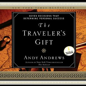 the traveler's gift - andy andrews   So, you think you're not much of a reader.Or maybe you like fiction. Well, this book is the best of both non-fiction and fiction worlds rolled into one!  the travel's gift is the story of a man who encounters the seven decisions for success through amazing divine journey that will leave you inspired and encouraged.  This book is the fiction companion to the seven decisions for success I mentioned above. You don't have to read both, but they really are a wonderful compliment to each other. I can't recommend this book enough!
