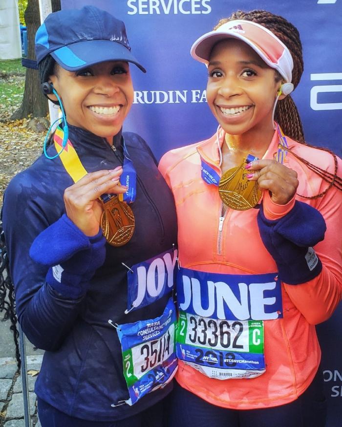marathon finishers