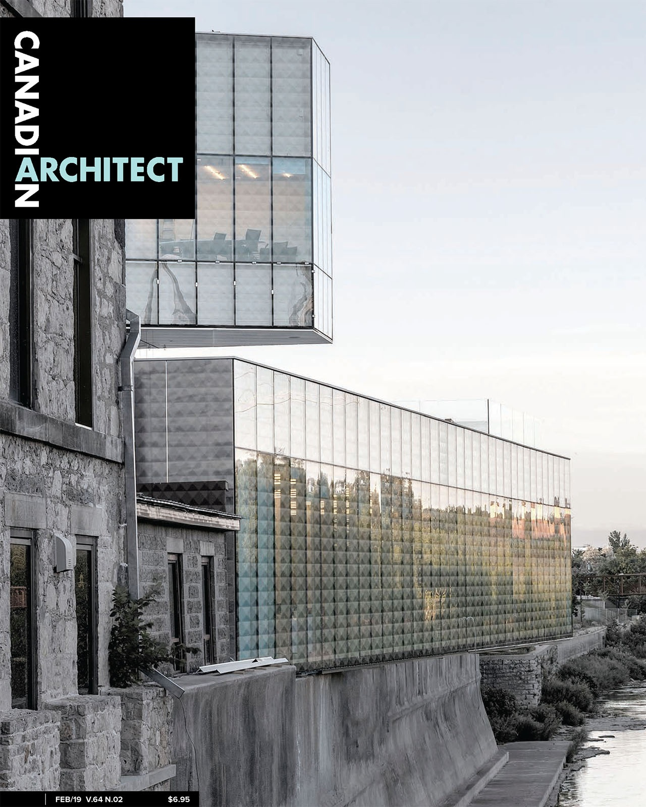 Canadian Architect Cover - February 2019 - Image published on the cover of Canadian Architect, February 2019 edition.
