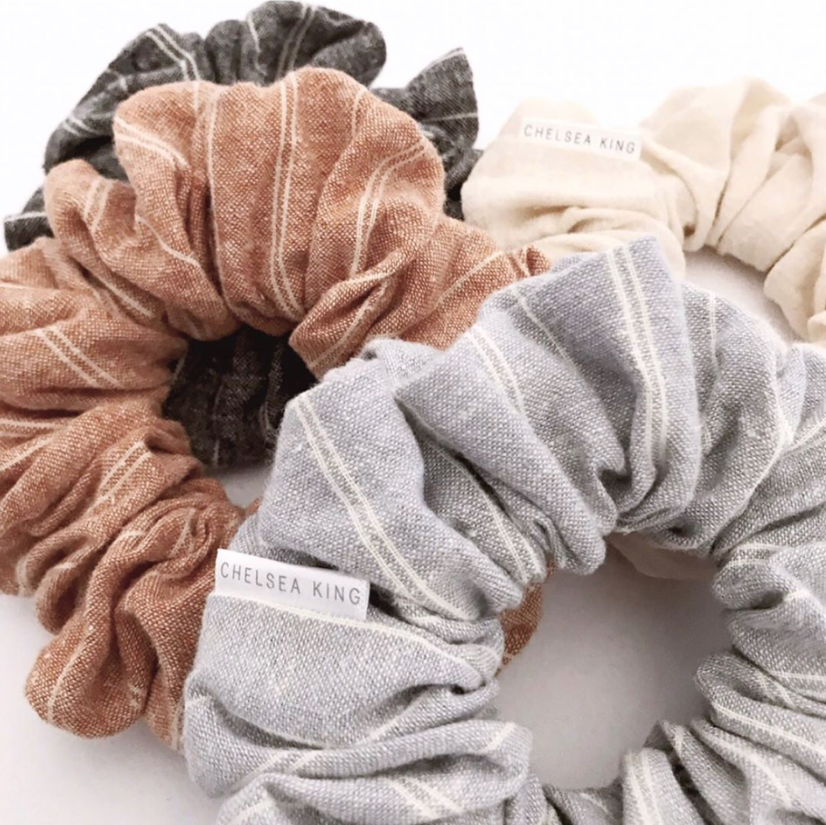 Just purchased the Santorini Scrunchies! <3  @shopchelseaking on instagram