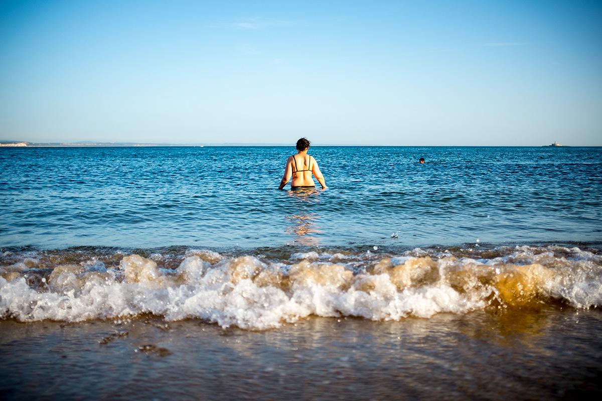 Paço de Arcos Beach, Portugal