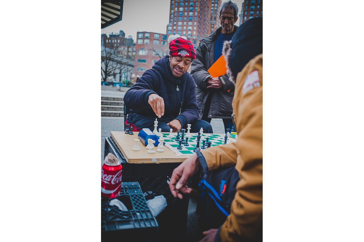 Union Square Chess Players