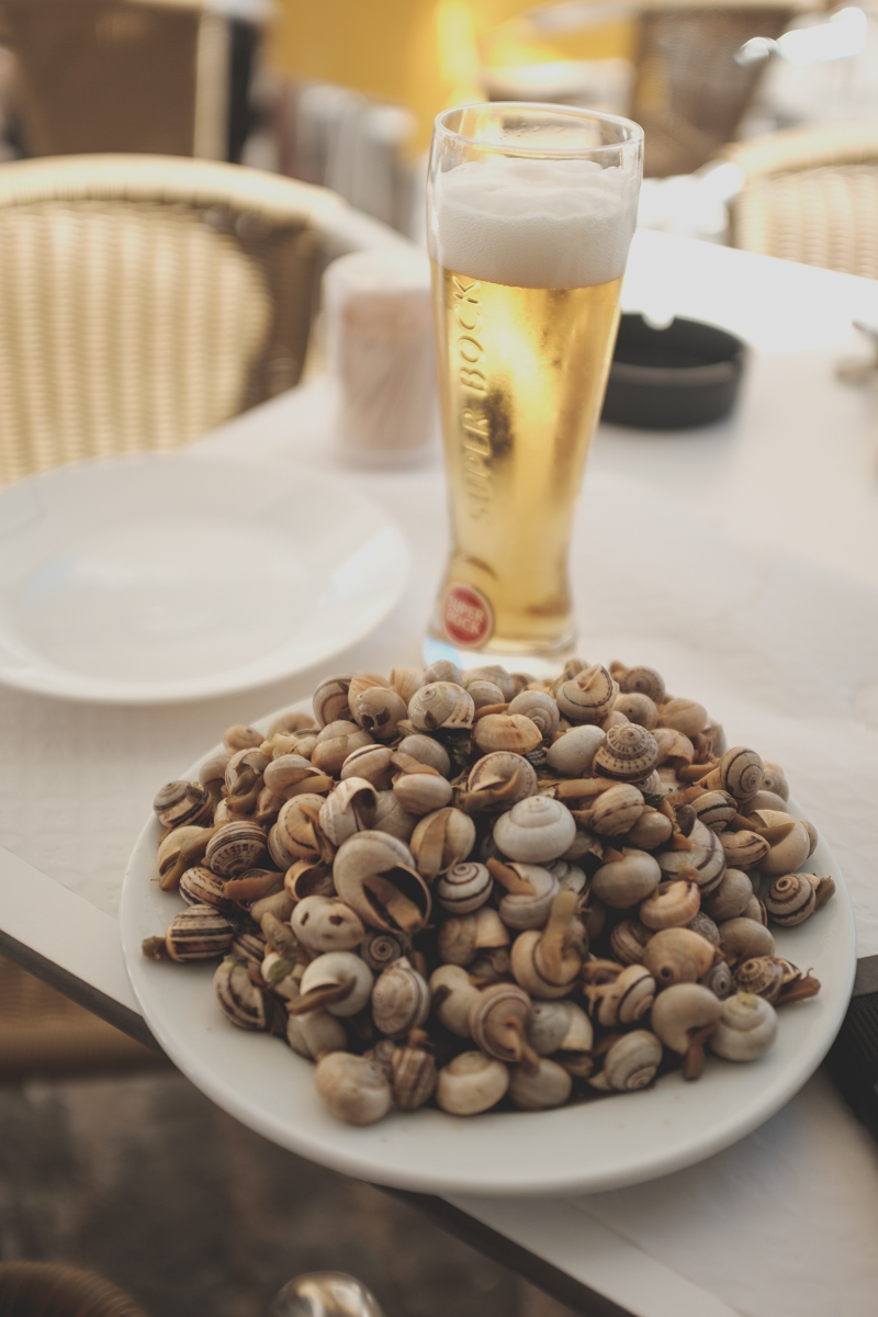 Snails and Beer. Best way to end a small trip