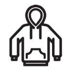 Sweatshirts   Hooded, Zippered, Crew