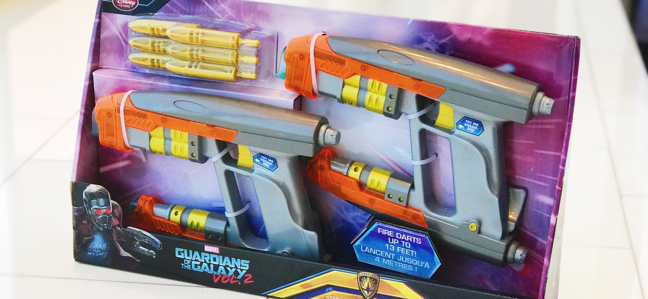 Star-Lord Element Blasters from the Disney Store