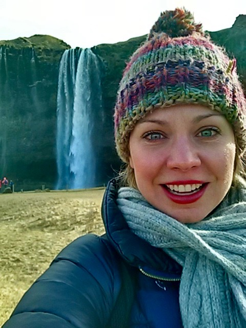 The Skogafoss waterfall in Iceland