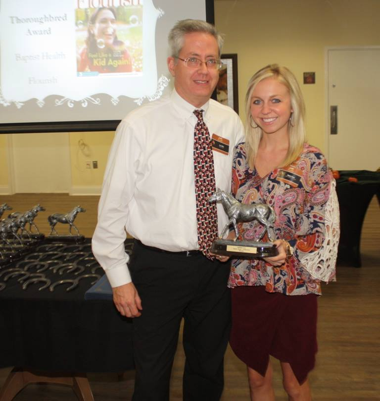Congratulations to Baptist Health on winning a 2015 Thoroughbred Award for their External Publications entry.