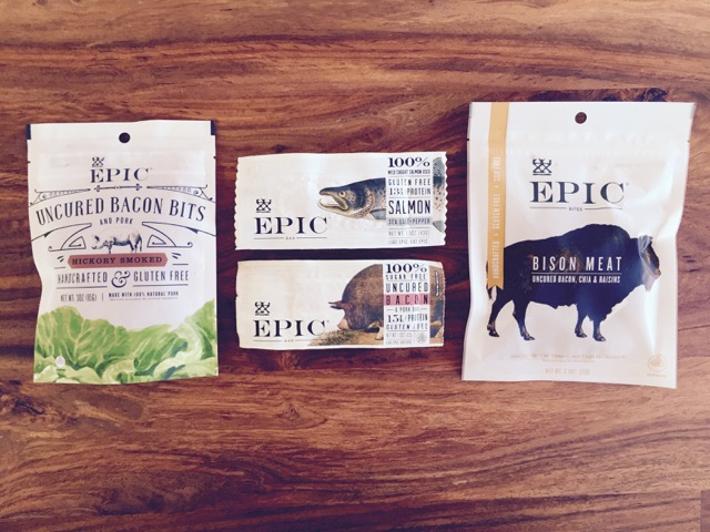 Epic Bars + Snack Bags