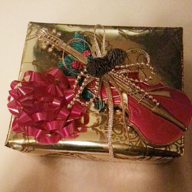 Gift wrapped by LifeofJoslyn's mom