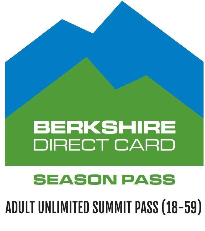 Adult Unlimited Summit Pass (18-59) - Adult ski season pass, no blackout dates or exclusions. Valid for ages 18-59. $549