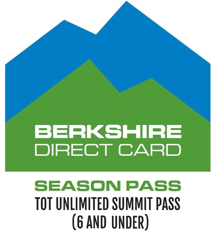 Tot Unlimited Summit Pass(6 and under) - Tot ski season pass, no blackout dates or exclusions. Valid for ages 6 and under. $0.00