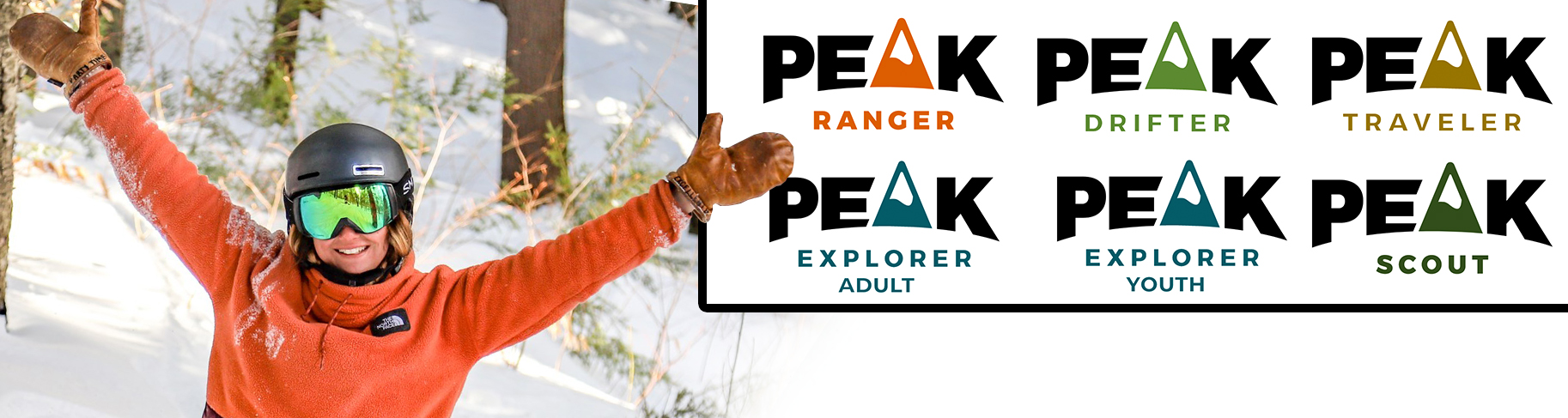 Peak Resorts New Peak Pass Logo