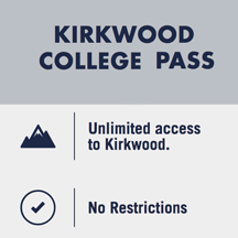 Kirkwood College Pass