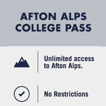 Afton Alps College Pass