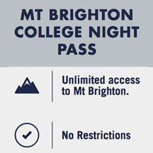 Mt Brighton College Night Pass