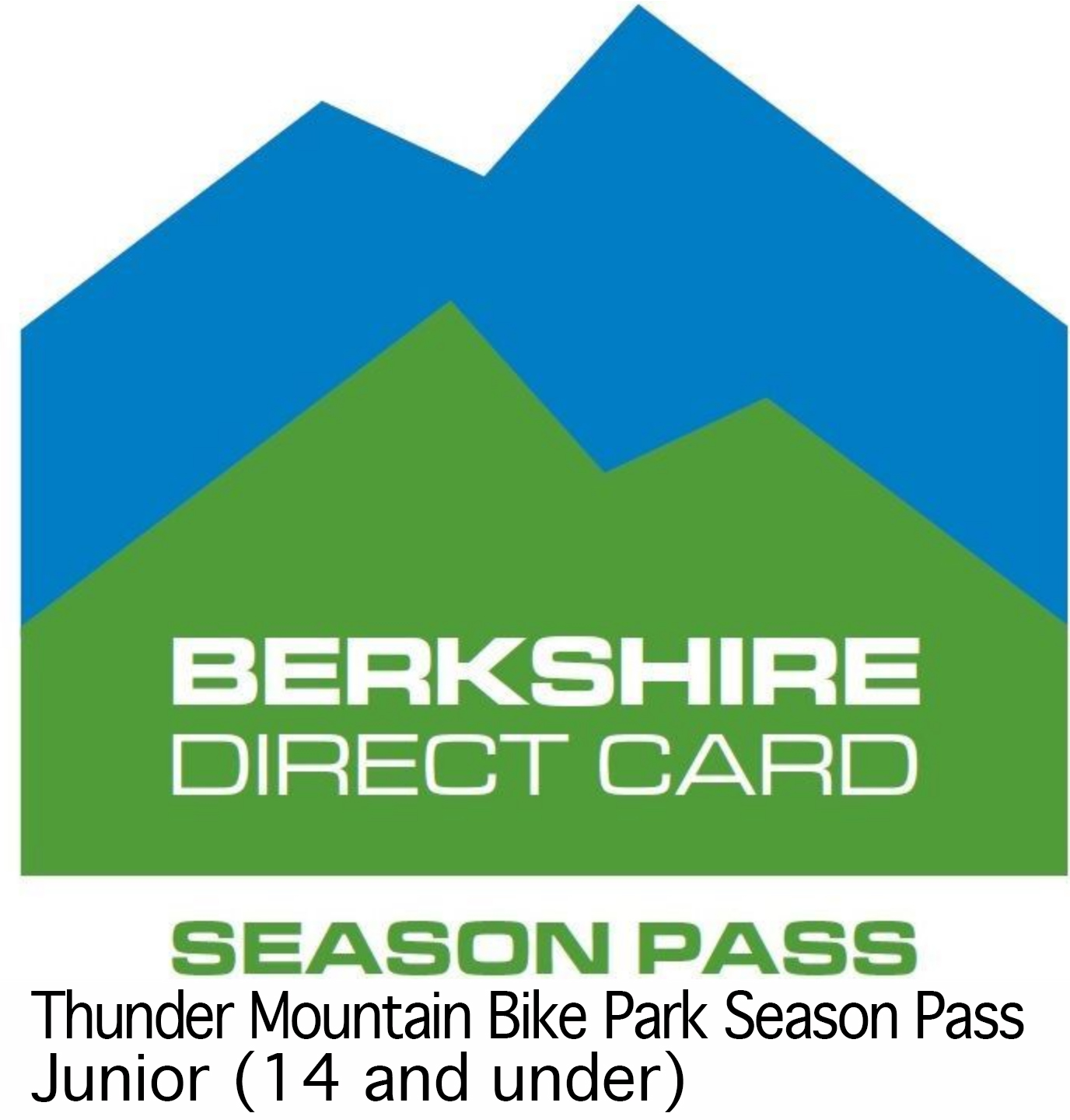 Thunder Mountain Bike Park Season Pass Junior (14 and under) - Season pass for the 2019 season. Junior passes are for ages 14 and under. $229