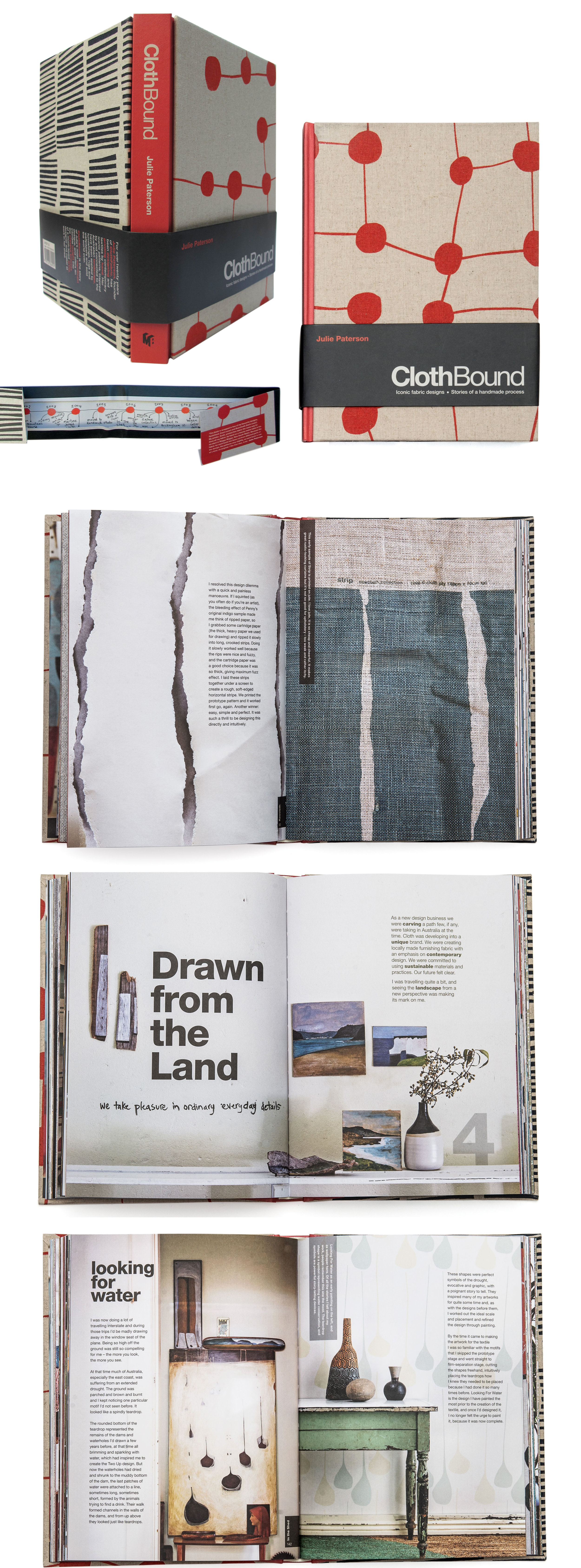 client  Murdoch Books  project  ClothBound by Julie Paterson