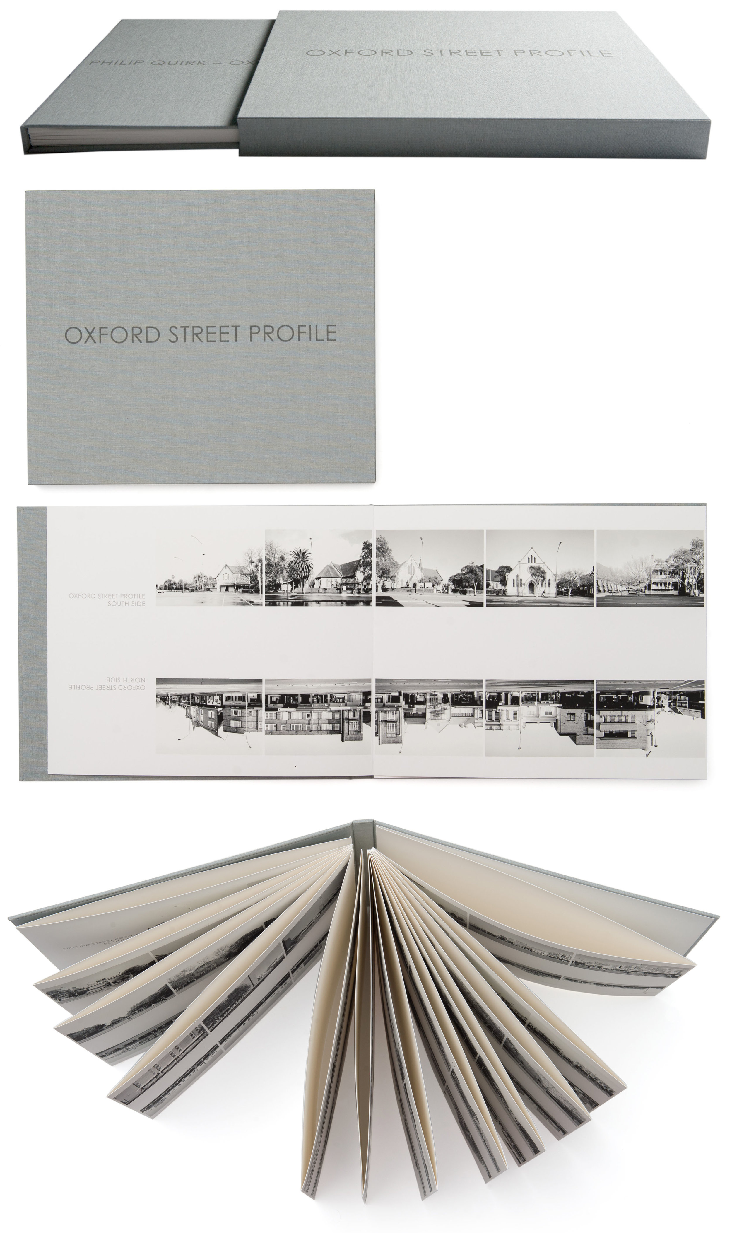 client  Philip Quirk    project  Oxford Street Profile | limited edition artist book