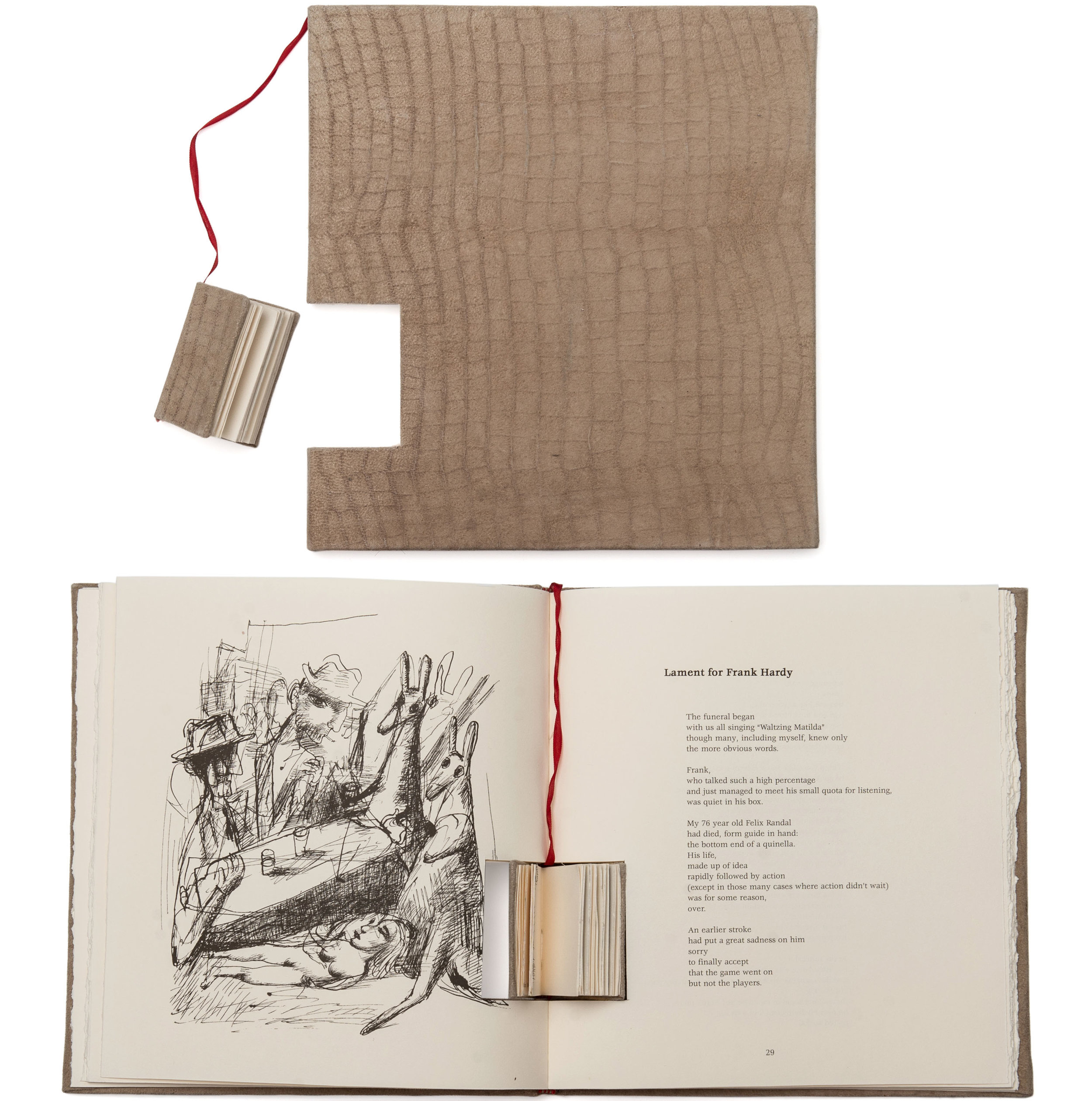 personal project   Maitland Gallery Bookbinding exhibition | hand-bound