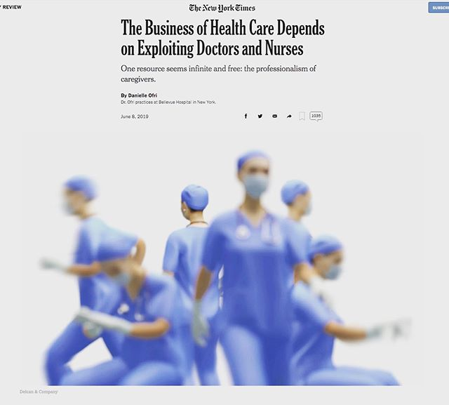 Certainly, this article confirms what we've known for years: 1) Administrative Creep, defined as the slow increase of administrative responsibilities that doctors and nurses have taken on over time, is real. . . 2) From 1975 to 2010, the number of health care administrators increased 3,200 percent. . . 3) There are now roughly 10 administrators for every doctor. . . 4)Per my previous post, the average physician generates  $2MM for the hospital/medical center annually. . . All of the above means that unless we (the revenue generators) speak up for ourselves and negotiate, then we will continue to be taken advantages of, both individually and collectively. . . #negotiations #contracts #physicians #doctors # nurses #speakup #negotiateyourwayin #negotiateyourwayout  #strategize #beproactive #knowtherulesofthegame