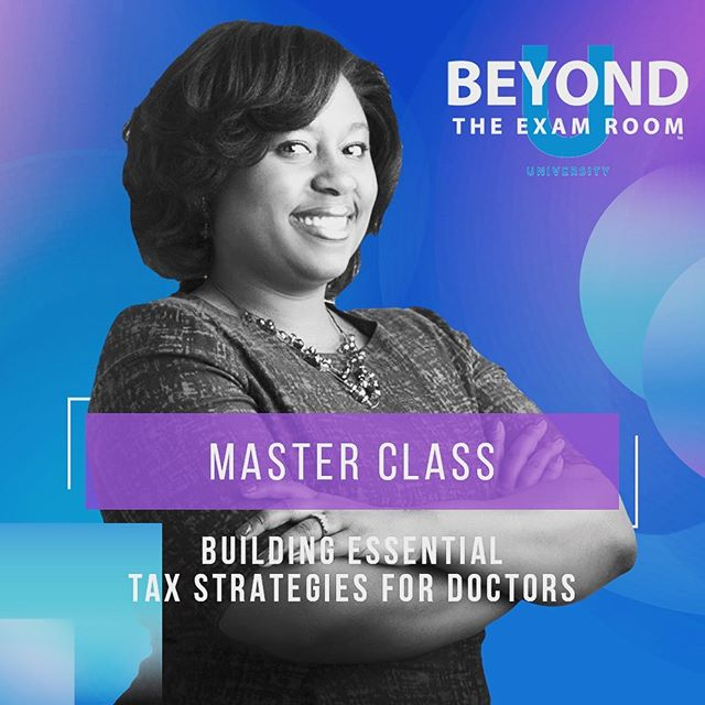 We're on now! * * It's not too late to register for tonight's Master Class on Tax Strategies for Doctors led by BTER Faculty member, Raquel Mack, CPA. * * Tag a friend! Registration link in bio.