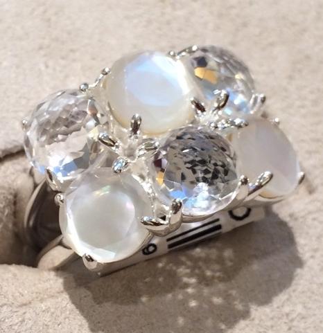 Ippolita Rock Candy with six stones in Flirt. $595.   Neiman Marcus  .