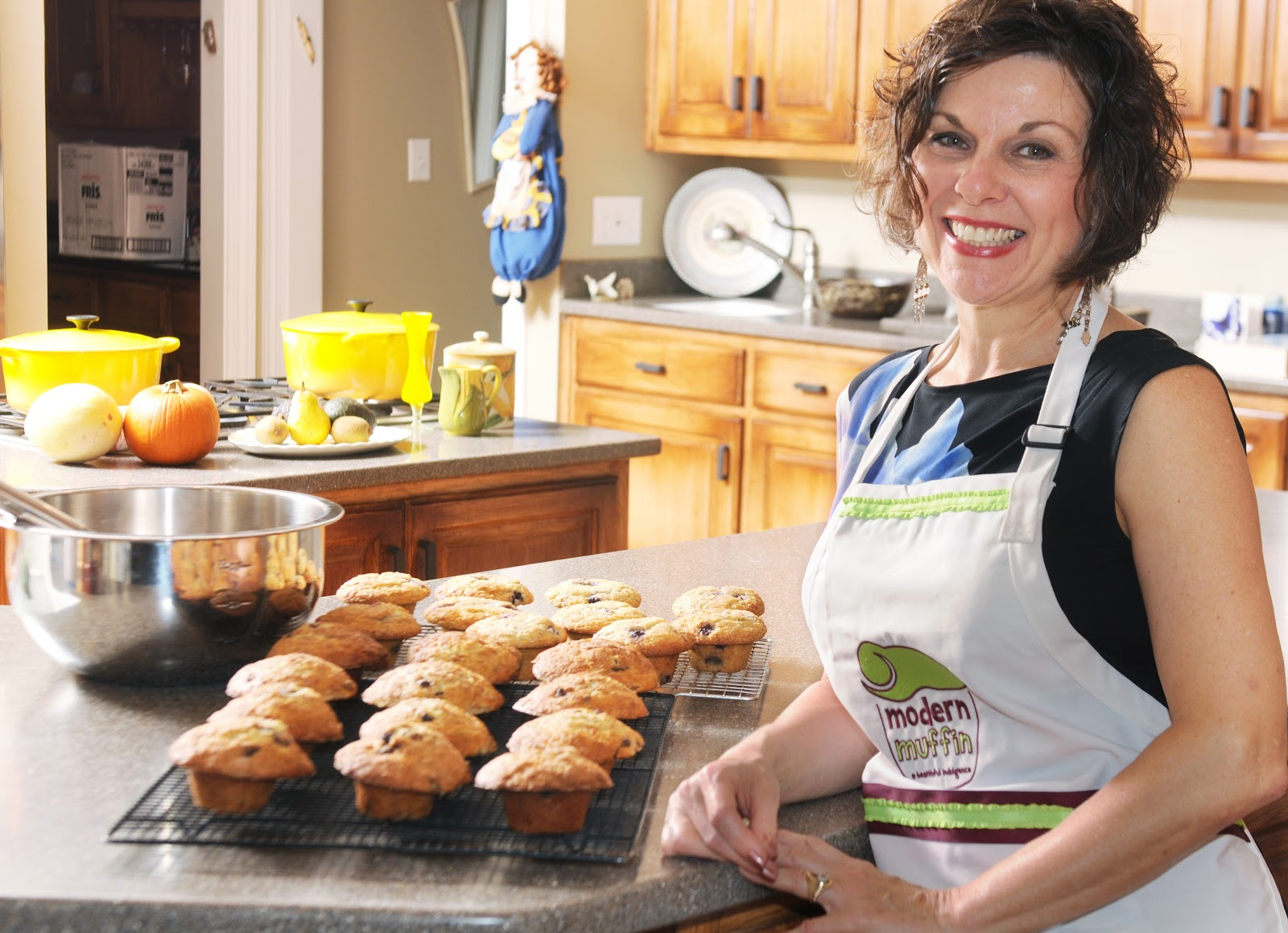 Modern Muffin founder Claire Putterman.