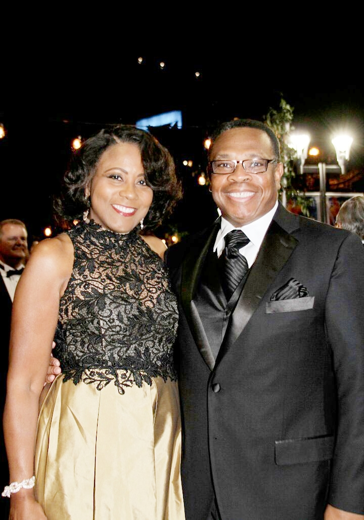 Angela and Jesse Cureton.