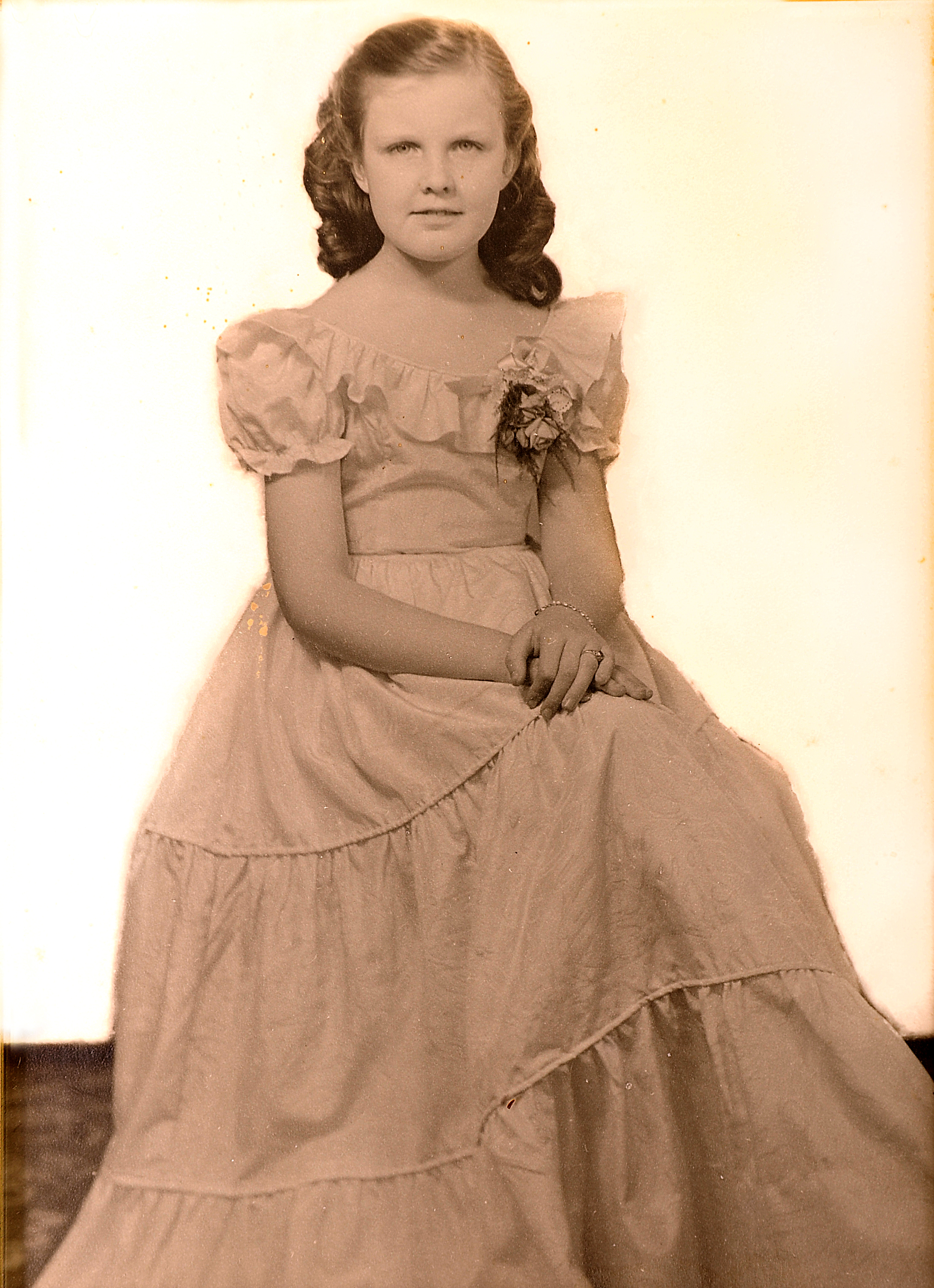 At a young age, Sally was taught to wear and appreciate beautiful clothes.