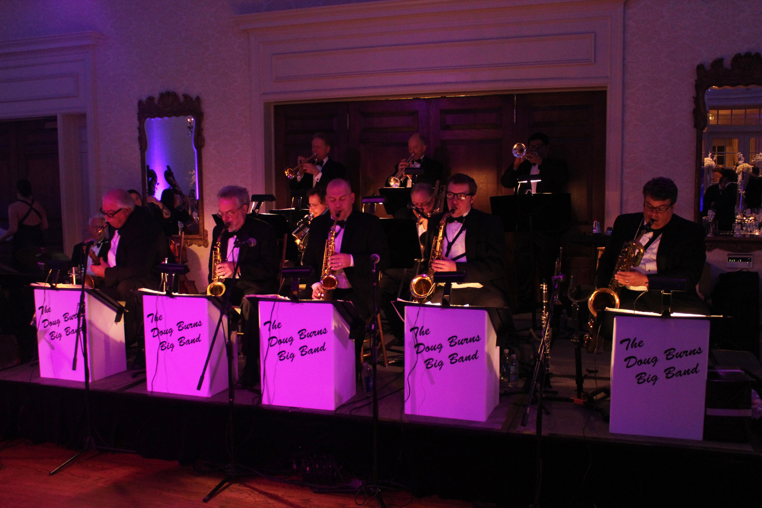 The Doug Burns Big Band.
